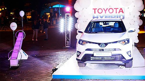 Драйв нон-стоп: Toyota представила яркие экспозиции на фестивале «Белые ночи» - Toyota