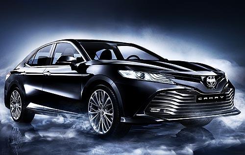 Новое поколение Toyota Camry уже в Украине - Toyota