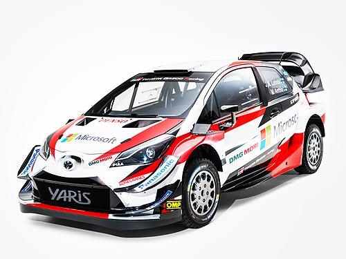 На каком авто TOYOTA будет выступать в чемпионате WRC