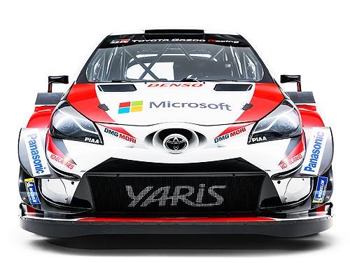 На каком авто TOYOTA будет выступать в чемпионате WRC - Toyota