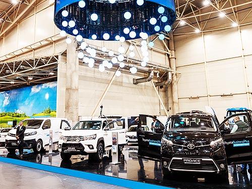 Toyota представила три модели авто для аграриев