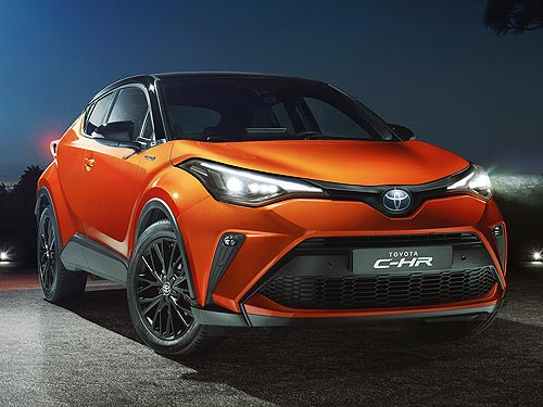 В Украине начали принимать заказы на новый Toyota C-HR
