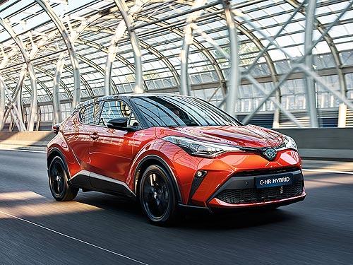 В Украине стартовали продажи нового Toyota C-HR