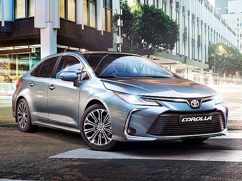 В Украине уже принимают заказы на Toyota Corolla нового поколения