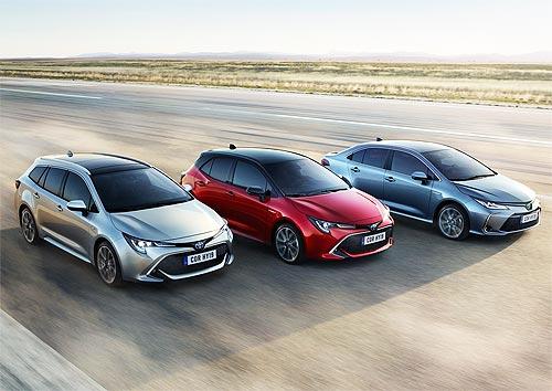 В Украине стартовали продажи нового поколения Toyota Corolla