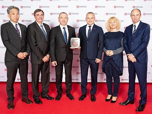 Украинский дилер Toyota получил премию Ichiban 2019