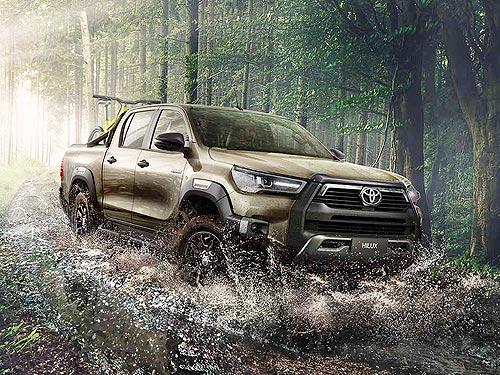В Украине стартуют продажи нового пикапа Toyota Hilux