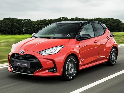 В Украине начали принимать заказы на новое поколение Toyota Yaris