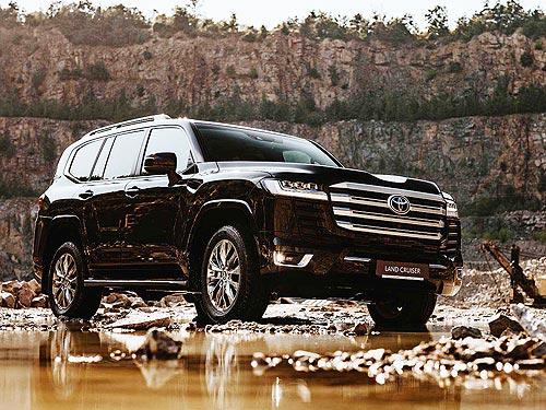 В Украине стартовали продажи нового Toyota Land Cruiser 300