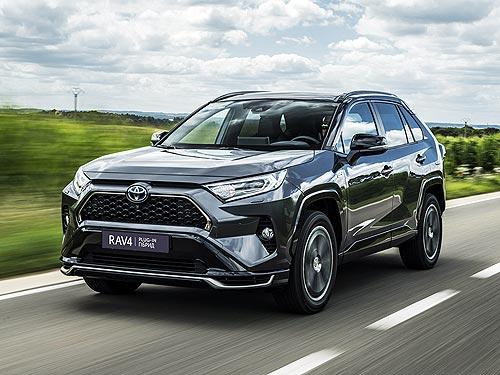 В Украине начали принимать заказы на новый подзаряжаемый гибрид Toyota RAV4 Plug-in Hybrid