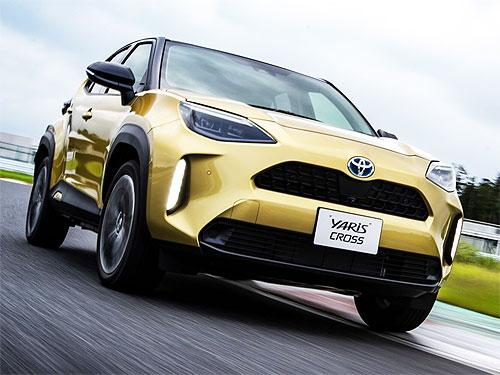 В Украине стартовал прием заказав на новый кроссовер Toyota Yaris Cross. Подробности и цены на новинку