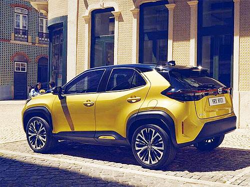 В Украине стартовал прием заказав на новый кроссовер Toyota Yaris Cross. Подробности и цены на новинку - Toyota