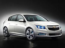 На автошоу в Париже будет представлен хэтчбек Chevrolet Cruze - Chevrolet
