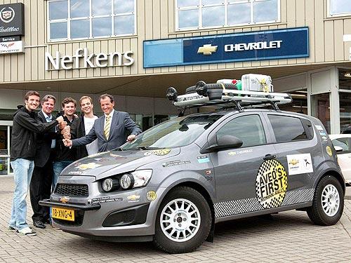 Chevrolet Aveo отправится в приключения длиной в 14 000 км - Chevrolet