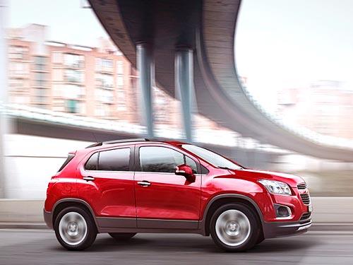 Chevrolet Tracker уже в Украине - Chevrolet