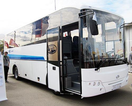 Украинцы оценили комфорт автобусов ЗАЗ А10 - ЗАЗ
