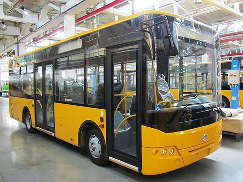 ЗАЗ возобновил производство автобусов - производство