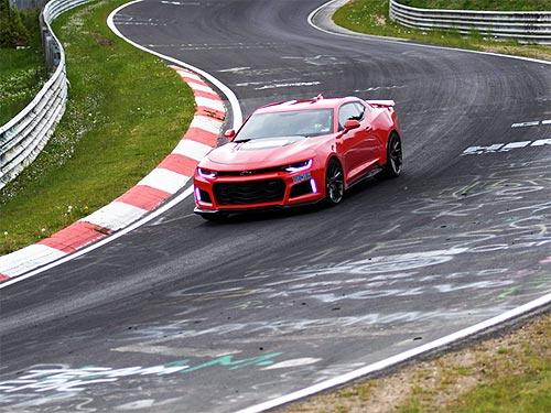 Новый Chevrolet Camaro ZL1 установил рекорд прохождения Нюрбургринга - Chevrolet