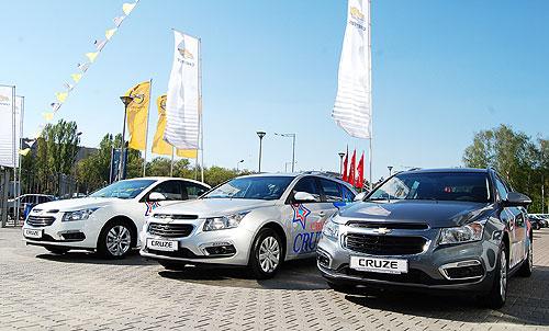 Покупатели Chevrolet Cruze экономят 30 000 грн. - Chevrolet