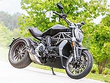 Первое знакомство: укрощаем Ducati XDiavel