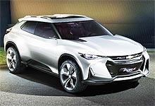 Chevrolet представил концептуальный купе-кроссовер