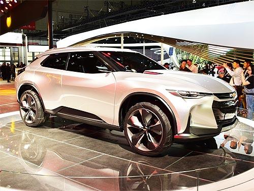 Chevrolet представил концептуальный купе-кроссовер - Chevrolet