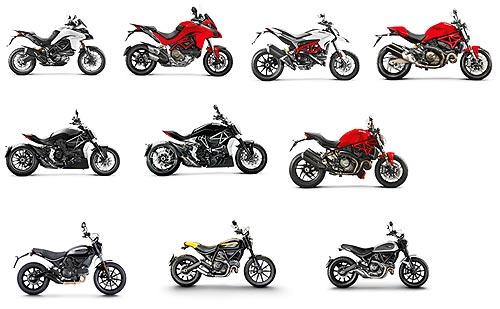 Ducati представит на выставке Мотобайк 2017 сразу несколько новинок - Ducati