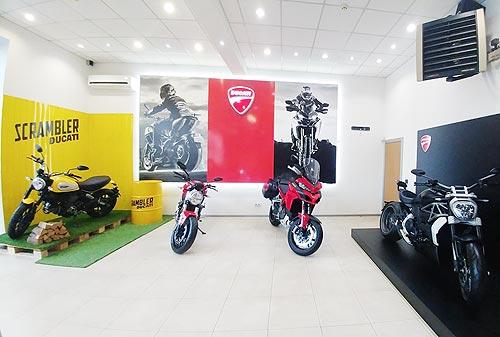 В Харькове начал работу официальный дилер мотоциклов Ducati - Ducati