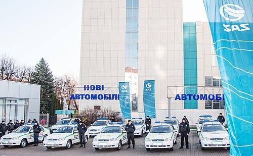 Автомобили ZAZ SENS будут служить в полиции охраны - ZAZ