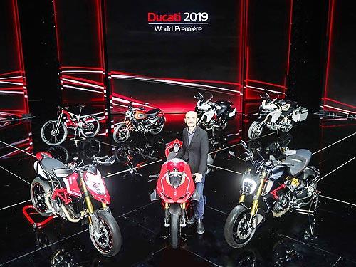 Ducati представила линейку мотоциклов 2019 года