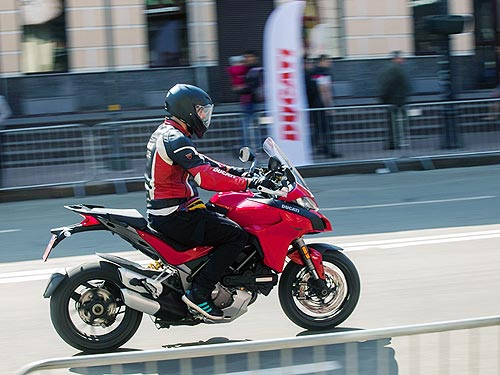 Ducati открыли мотосезон масштабным тест-драйвом - Ducati