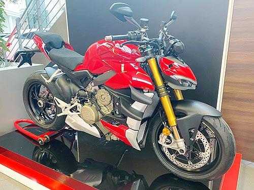 В Украине стартовали продажи новинки 2020 г. Ducati Streetfighter V4