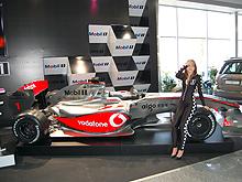 На Столичном Автошоу Mobil1 показал гоночный Vodafone McLaren Mercedes MP4-24 - Mobil