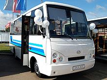 ЗАЗ показал новую модель автобуса А07 - ЗАЗ