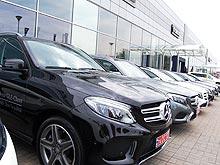 В Украине стали покупать больше автомобилей премиальных брендов