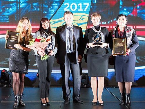 Renault Megane стал «Легковым автомобилем года в Украине 2017» - Renault