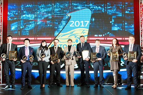 Kia Sportage получил титул «Кроссовер/SUV* 2017 года в Украине» - Kia