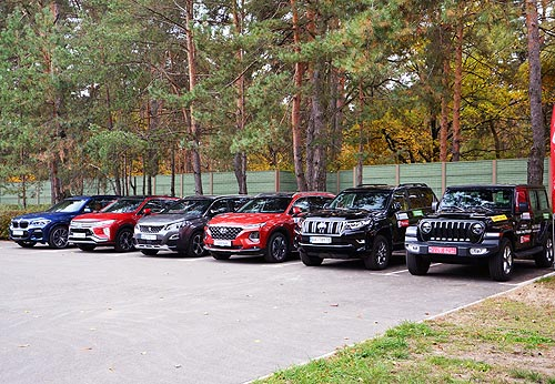 Какие авто претендуют в этом году на титул «Автомобиль года в Украине»