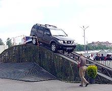 Экстримальный тест Nissan 4x4