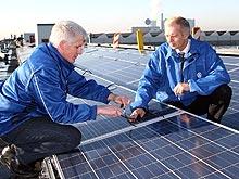 На заводе Volkswagen Коммерческие автомобили установлена первая солнечная энергоустановка - Volkswagen