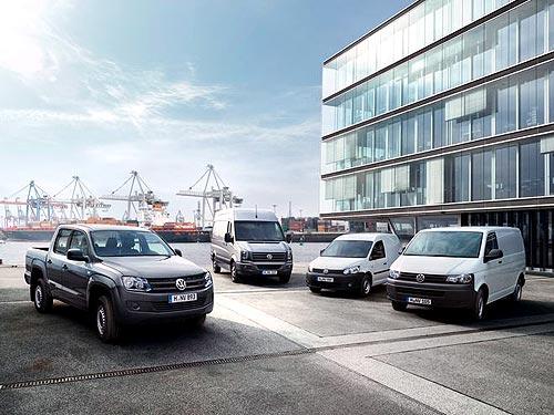 Продажи Коммерческих автомобилей Volkswagen в 2012 году достигли рекордных показателей - Volkswagen
