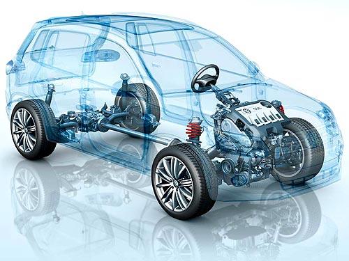 Volkswagen Tiguan.  Полный привод.