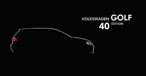 В Украине стартуют продажи специальной юбилейной комплектации Volkswagen Golf Edition 40 - Volkswagen