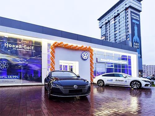 В Киеве появился первый обновленный дилерский центр Volkswagen