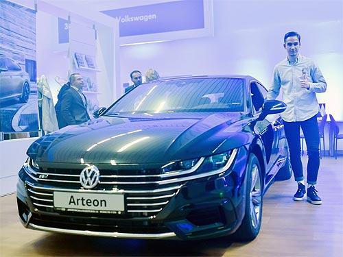 В Киеве появился первый обновленный дилерский центр Volkswagen - Volkswagen