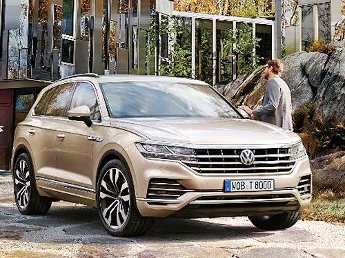Volkswagen представил новое поколение Touareg - Volkswagen