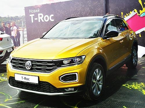 В Украине дебютировал самый эмоциональный кроссовер Volkswagen T-Roc - Volkswagen