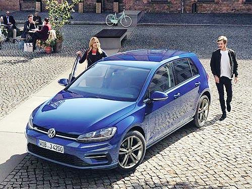 На специальные комплектации Volkswagen Golf Limited Edition действуют выгодные цены