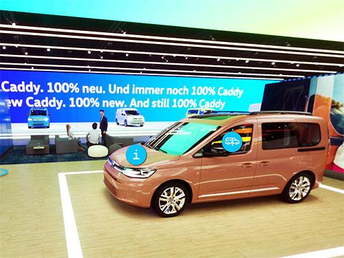 Volkswagen Коммерческие автомобили представили свой виртуальный стенд на выставке в Ганновере