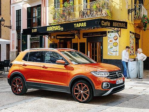 Новый компактный кроссовер Volkswagen T-Cross уже в Украине - Volkswagen